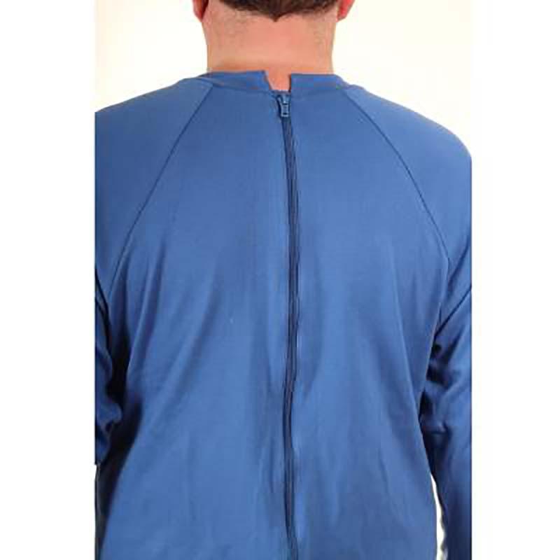 zip dos grenouillère homme adaptée personne mobilité réduite