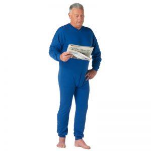 grenouillère homme ajustée adaptée incontinence