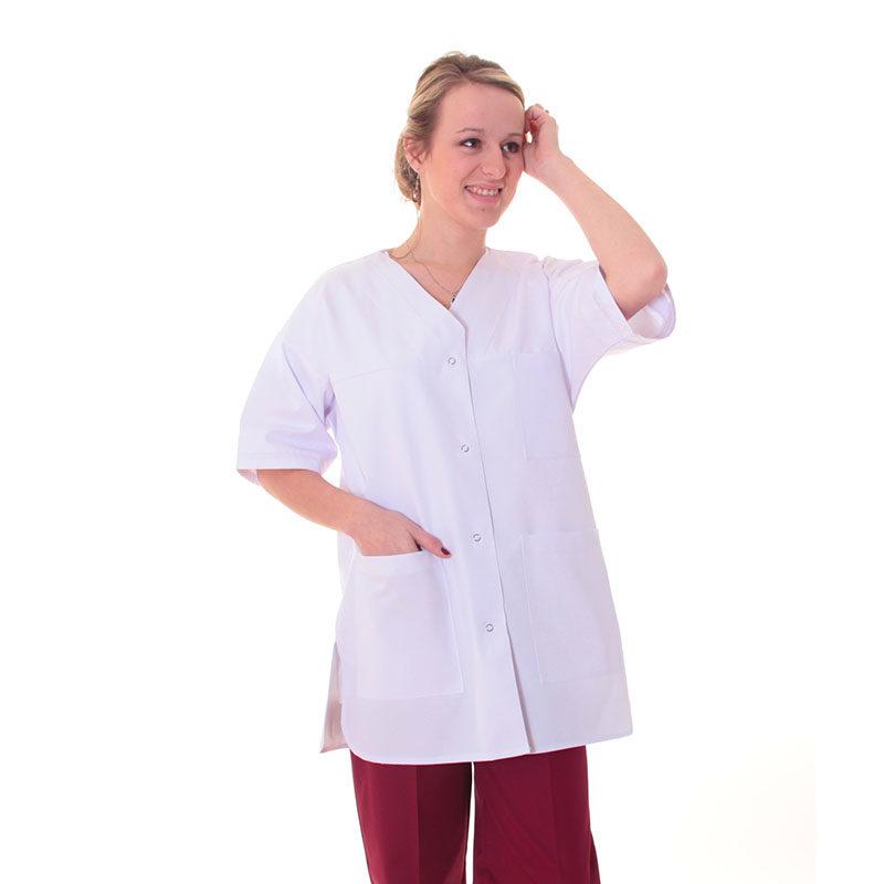 tenue médicale femme tunique manches courtes