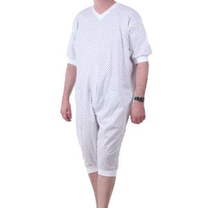 grenouillère homme éco manches courtes jambes courtes
