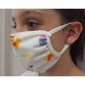 masque enfant tissu